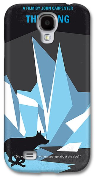 No466 My The Thing Minimal Movie Poster Galaxy S4 Case by Chungkong Art