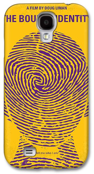 No439 My The Bourne Identity Minimal Movie Poster Galaxy S4 Case by Chungkong Art