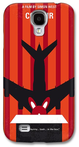 Viruses Galaxy S4 Cases - No446 My CON AIR minimal movie poster Galaxy S4 Case by Chungkong Art