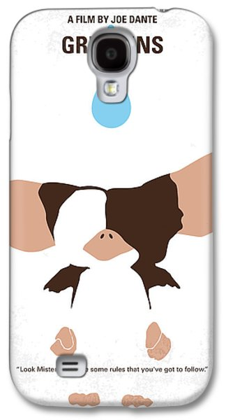 Pet Digital Art Galaxy S4 Cases - No451 My Gremlins minimal movie poster Galaxy S4 Case by Chungkong Art