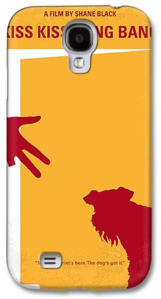 Dogs Digital Art Galaxy S4 Cases - No452 My Kiss Kiss Bang Bang minimal movie poster Galaxy S4 Case by Chungkong Art