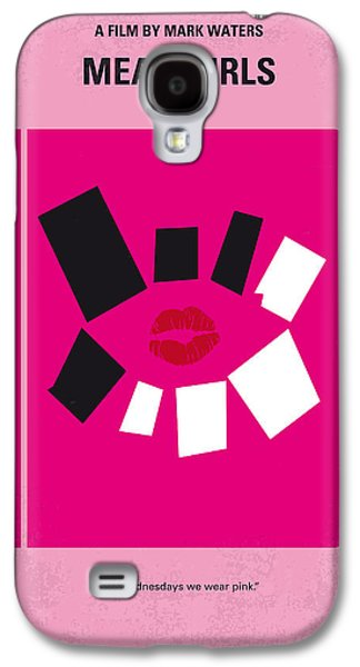 No458 My Mean Girls Minimal Movie Poster Galaxy S4 Case by Chungkong Art
