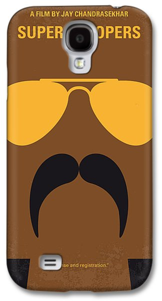Police Galaxy S4 Cases - No459 My Super Troopers minimal movie poster Galaxy S4 Case by Chungkong Art