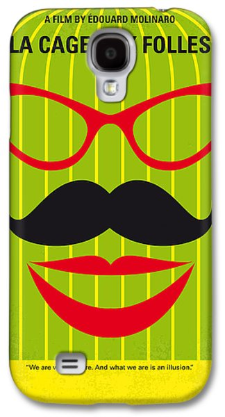 Cage Galaxy S4 Cases - No473 My La cage aux folles minimal movie poster Galaxy S4 Case by Chungkong Art
