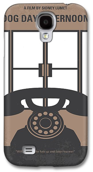 Police Art Galaxy S4 Cases - No479 My Dog Day Afternoon minimal movie poster Galaxy S4 Case by Chungkong Art