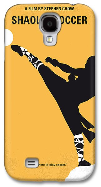 Steel Galaxy S4 Cases - No480 My Shaolin Soccer minimal movie poster Galaxy S4 Case by Chungkong Art