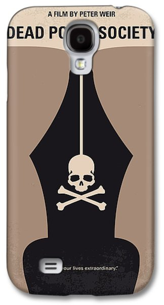 No486 My Dead Poets Society Minimal Movie Poster Galaxy S4 Case by Chungkong Art