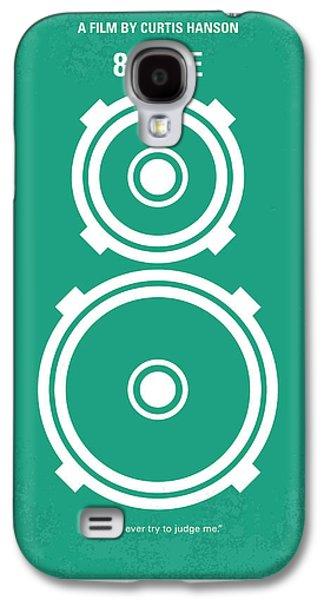 Kim Digital Art Galaxy S4 Cases - No491 My 8 Mile minimal movie poster Galaxy S4 Case by Chungkong Art