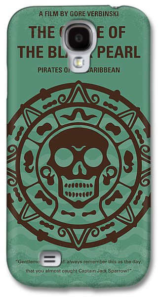 Pirates Galaxy S4 Cases - No494-1 My Pirates of the Caribbean I minimal movie poster Galaxy S4 Case by Chungkong Art