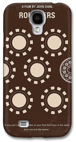 Las Vegas Art Galaxy S4 Cases - No503 My Rounders minimal movie poster Galaxy S4 Case by Chungkong Art