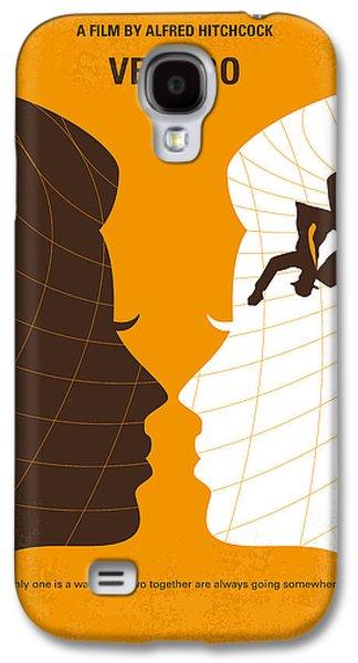 Police Art Galaxy S4 Cases - No510 My Vertigo minimal movie poster Galaxy S4 Case by Chungkong Art
