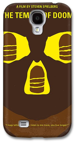Indiana Art Galaxy S4 Cases - No517 My The temple of doom minimal movie poster Galaxy S4 Case by Chungkong Art