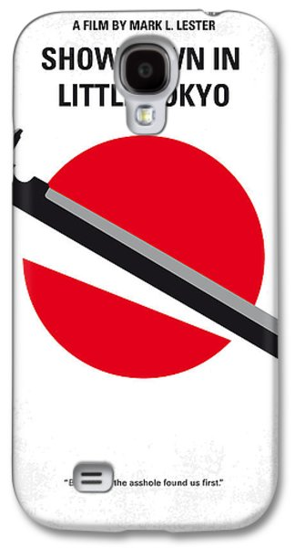 No522 My Showdown In Little Tokyo Minimal Movie Galaxy S4 Case by Chungkong Art
