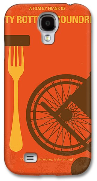 Dirty Galaxy S4 Cases - No536 My Dirty Rotten Scoundrels minimal movie poster Galaxy S4 Case by Chungkong Art