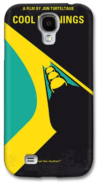 Jamaican Galaxy S4 Cases - No538 My COOL RUNNINGS minimal movie poster Galaxy S4 Case by Chungkong Art