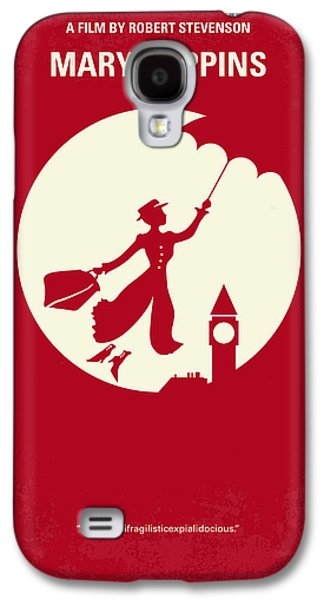 Umbrella Digital Galaxy S4 Cases - No539 My Mary Poppins minimal movie poster Galaxy S4 Case by Chungkong Art