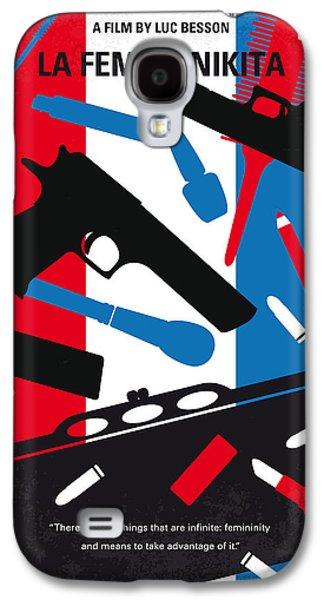 No545 My La Femme Nikita Minimal Movie Poster Galaxy S4 Case by Chungkong Art