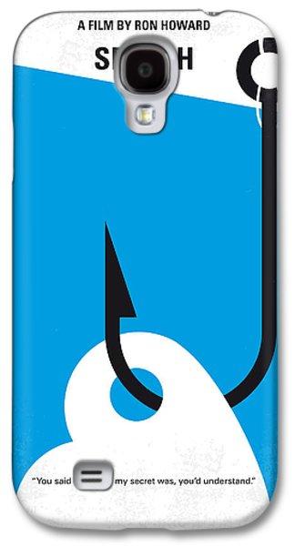 No625 My Splash Minimal Movie Poster Galaxy S4 Case by Chungkong Art