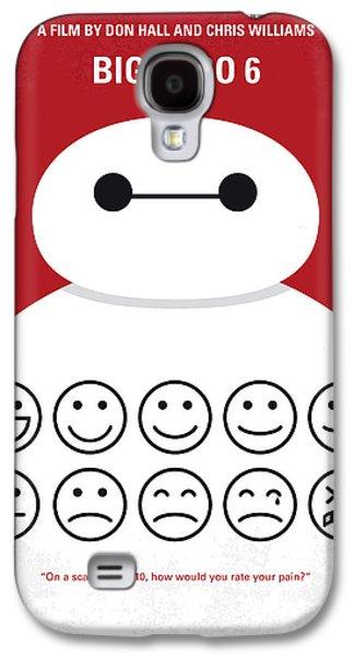 No649 My Big Hero 6 Minimal Movie Poster Galaxy S4 Case by Chungkong Art