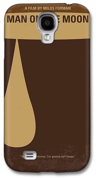 No675 My Man On The Moon Minimal Movie Poster Galaxy S4 Case by Chungkong Art