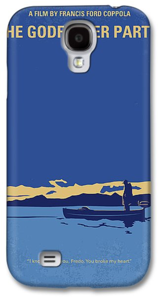 No686-2 My Godfather II Minimal Movie Poster Galaxy S4 Case by Chungkong Art