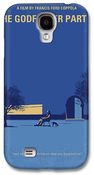 No686-3 My Godfather IIi Minimal Movie Poster Galaxy S4 Case by Chungkong Art