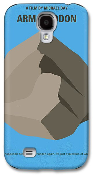 No695 My Armageddon Minimal Movie Poster Galaxy S4 Case by Chungkong Art