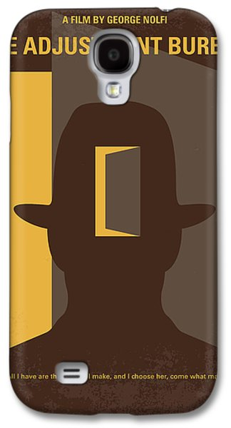 No710 My The Adjustment Bureau Minimal Movie Poster Galaxy S4 Case by Chungkong Art