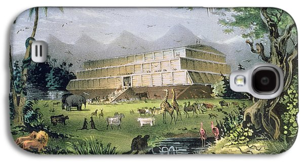 Noahs Ark Galaxy S4 Case by Currier and Ives