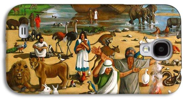 Noah's Ark Mural Galaxy S4 Case by Joyce Geleynse