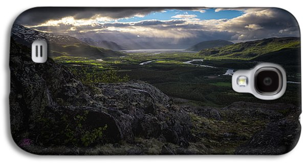 Norway Galaxy S4 Cases - Nordreisa Galaxy S4 Case by Tor-Ivar Naess