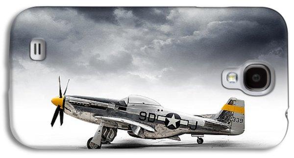 North American P-51 Mustang Galaxy S4 Case by Douglas Pittman
