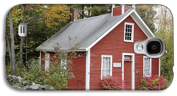 New England Village Galaxy S4 Cases - North District School House - Dorchester New Hampshire Galaxy S4 Case by Erin Paul Donovan
