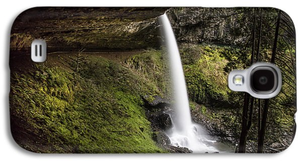 North Falls In Silver Falls State Park Galaxy S4 Case by John McGraw