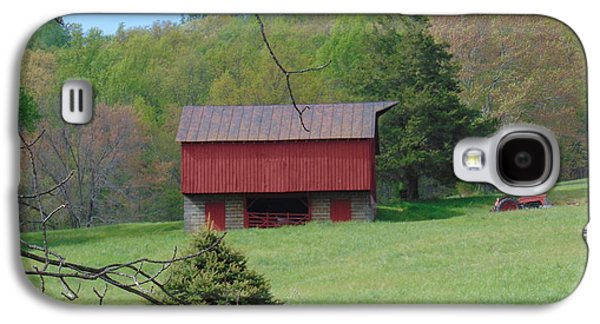 North Garden Barn Galaxy S4 Case by Charlotte Gray