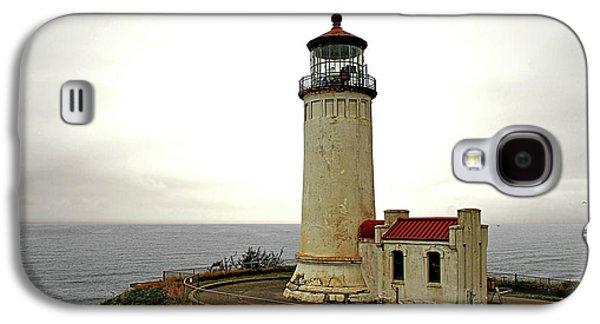 Coast Highway One Galaxy S4 Cases - North Head Lighthouse - Graveyard of the Pacific - Ilwaco WA Galaxy S4 Case by Christine Till