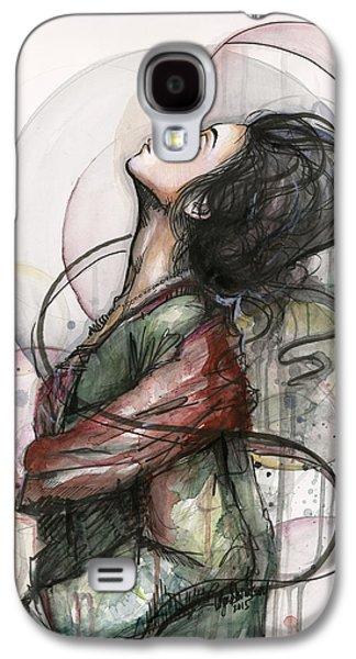 Recently Sold -  - Drawing Galaxy S4 Cases - North  Galaxy S4 Case by Olga Shvartsur