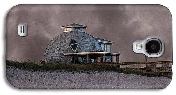 Topsail Galaxy S4 Cases - North Topsail Beach Dome Galaxy S4 Case by Betsy C  Knapp