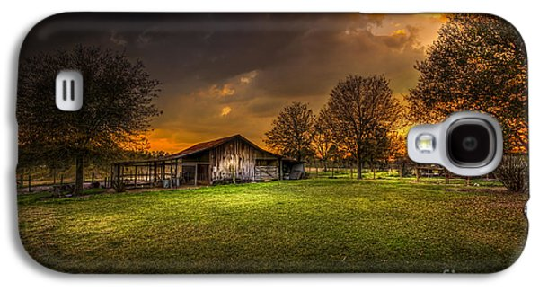 Barn Yard Galaxy S4 Cases - Not The Last Storm Galaxy S4 Case by Marvin Spates