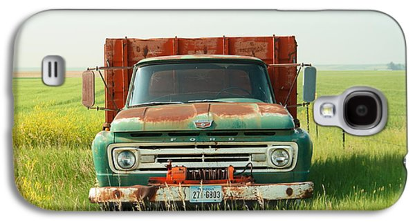 Farm Truck Galaxy S4 Cases - Nothing beats a Ford Galaxy S4 Case by Jeff  Swan