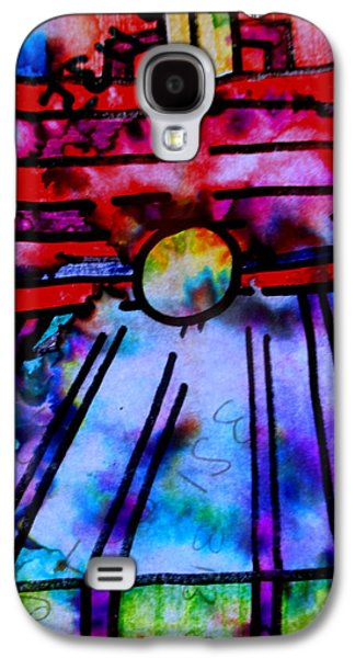 Abstracted Galaxy S4 Cases - Nothing Changes Ever Galaxy S4 Case by Allen N Lehman