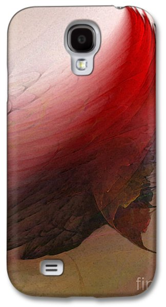 Contemplative Digital Galaxy S4 Cases - Nothing Lasts Galaxy S4 Case by Karin Kuhlmann