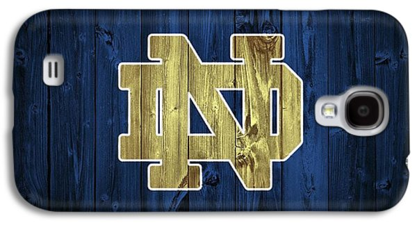 Notre Dame Barn Door Galaxy S4 Case by Dan Sproul