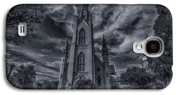 Notre Dame University Church Galaxy S4 Case by David Haskett