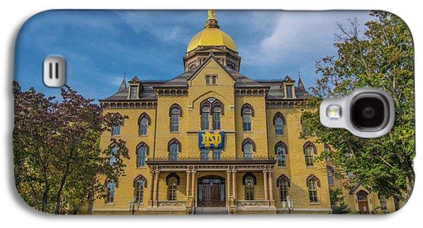 Notre Dame University Golden Dome Galaxy S4 Case by David Haskett