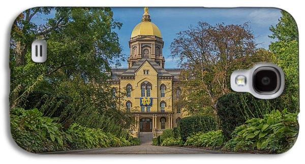 Notre Dame University Q Galaxy S4 Case by David Haskett