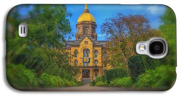 Notre Dame University Q2 Galaxy S4 Case by David Haskett