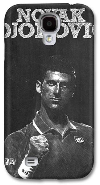 Novak Djokovic Galaxy S4 Case by Semih Yurdabak