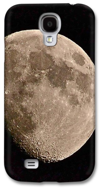Constellations Paintings Galaxy S4 Cases - November Moon - Photograph Galaxy S4 Case by Eugenie B Fein
