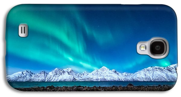 Norway Galaxy S4 Cases - November night Galaxy S4 Case by Tor-Ivar Naess